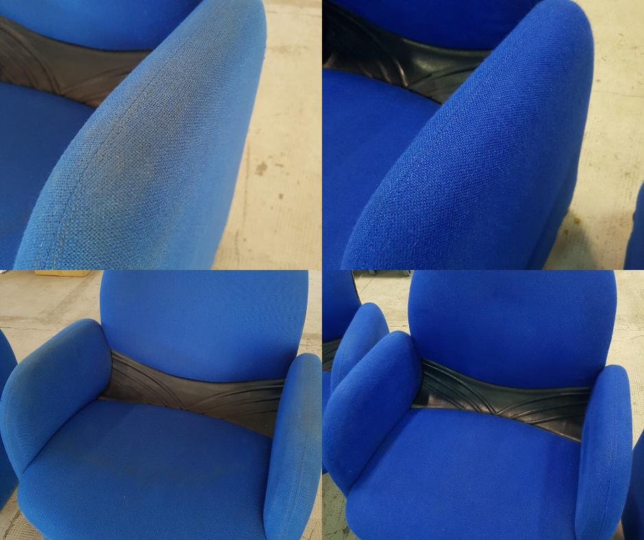 sanificazione ozono sedie ufficio
